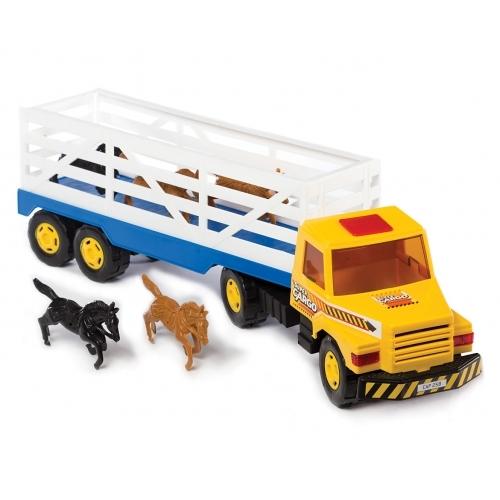 Camión trasnportador de animales
