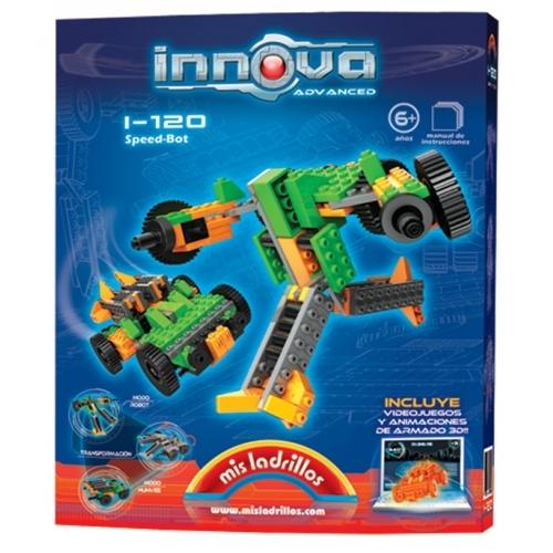 Innova - Robot transformable en Vehículo (120 piezas)