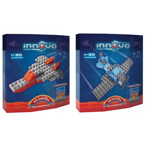 Innova - Aviones - 2 modelos (30 piezas)