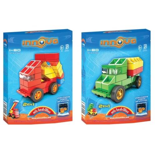 Innova - Camiones 2 modelos (80 piezas)