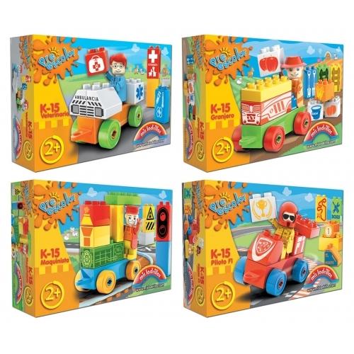Preescolar Caja de 15 piezas (surtido 4 modelos)