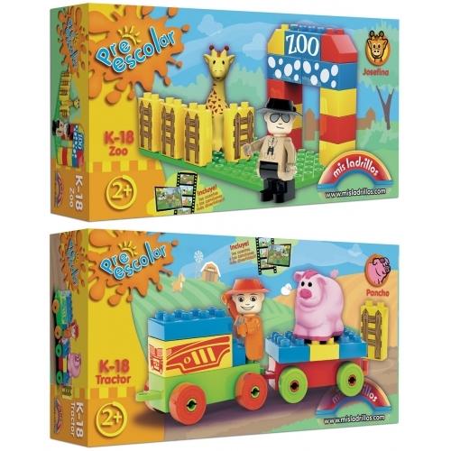 Preescolar - Caja de 18 piezas (surtido 2 modelos)