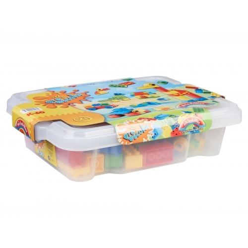 Preescolar Caja plástica con 60 piezas