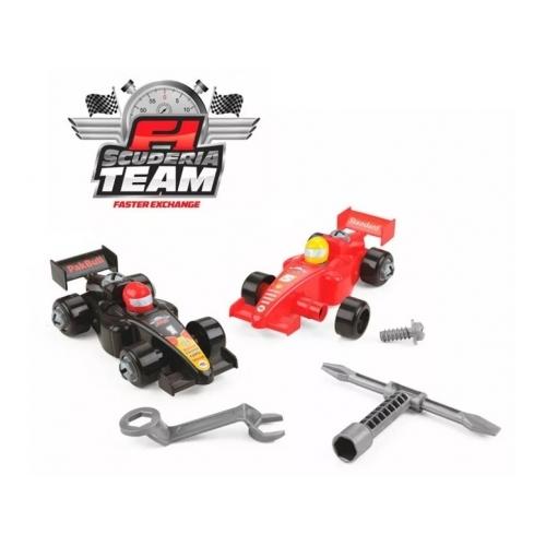 Equipo F1 con 2 autos
