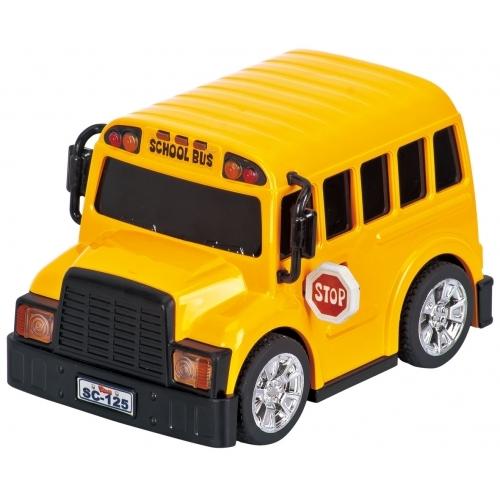 Omnibus escolar a pull back