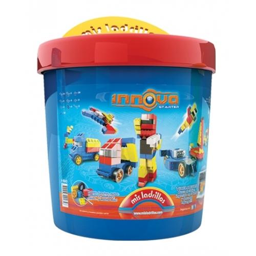 Innova - Balde chico Vehículos (150 piezas)