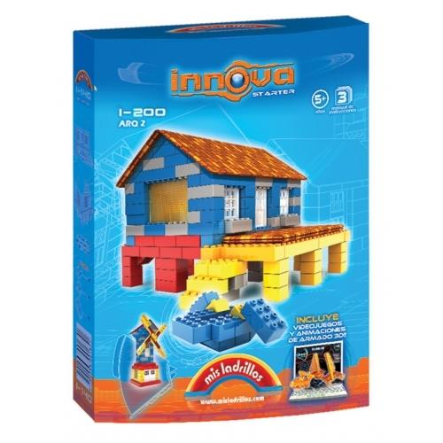 Innova - Molino y Casa isleña (200 piezas)
