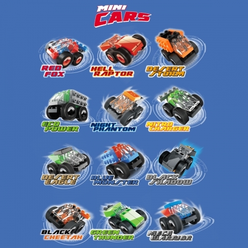 Innova - Mini Cars (surtido 12 modelos) (20 piezas)