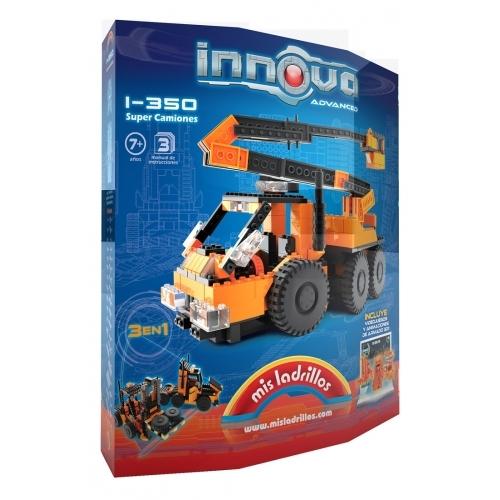Innova - Camión / Grúa / Autoelevador (350 piezas)